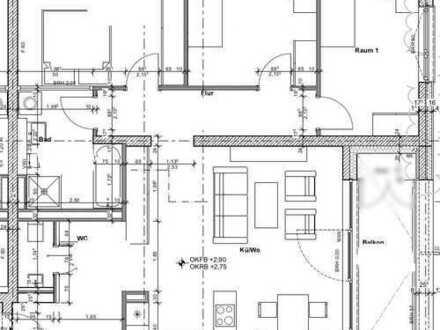 4 Zimmer-Wohnung im Neubau! Fertigstellung 2018