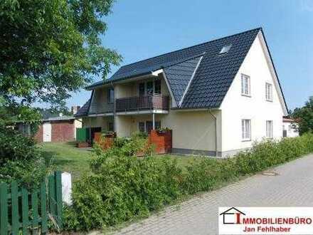 Gemütliche 3-Zimmer-Wohnung mit Terrasse und Einbauküche in Hanshagen bei Greifswald