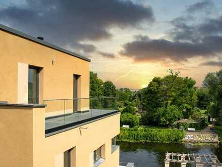 Ihr Logenplatz am Wasser! Moderne 5-Zimmer-Villa in exklusiver Altstadt-Lage