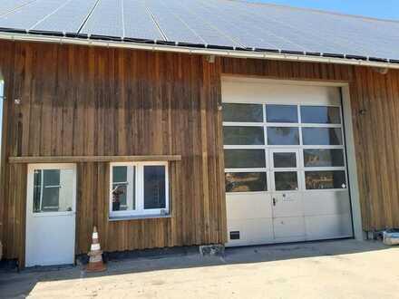 Vermietung einer Halle als Werkstatt oder Lagerfläche