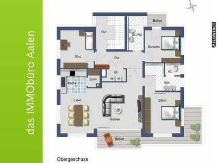 Wohnung mit gehobener Ausstattung in ruhiger Lage von Wasseralfingen