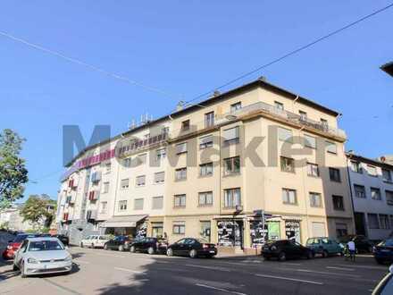 Innenstadtnahes Objekt für Kapitalanleger: Vermietete 2-Zimmer-Wohnung mit Balkon