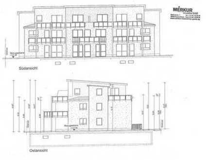 2 neue, exclusive 2 Zi.-ETW mit jeweils 59 m², Balkon bzw. Garten, Lift, Garage