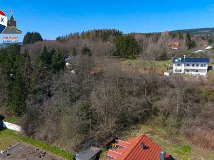 Baugrundstück mit schöner Aussicht in Rappweiler-Zwalbach