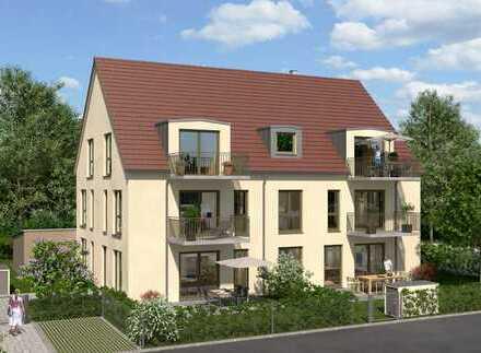 +++Erstbezug in zentraler Lage - 2 ZKB/OG/ca. 62 m² Wfl./Balkon/Duplexgarage in Pfaffenhofen+++