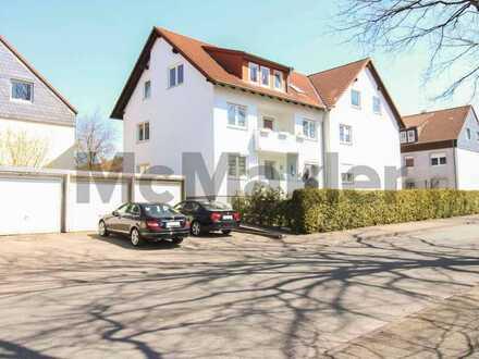 Zentral u. gepflegt: Bewohnte 3-Zi.-Dachgeschosswohnung in Augustdorf