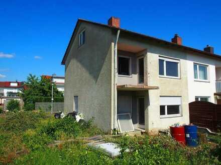 1 - Familien -Reiheneckhaus (zum renovieren) in begehrter Wohnlage von Ehingen (Donau).