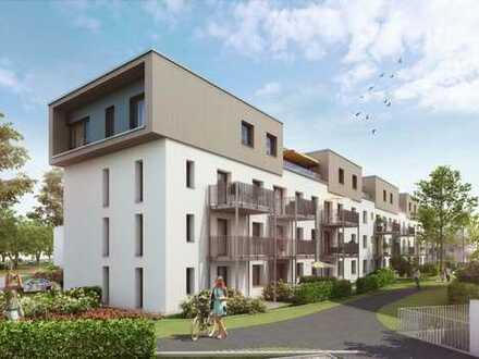 Fast-Neubau durch Premium-Sanierung, Stadtbahn-Haltestelle und Sullivan-Park in Sichtweite.