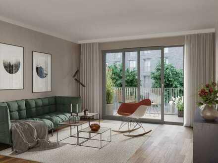 PANDION 5 FREUNDE Haus C - 1-Zimmer Apartment mit großem Tageslichbad und Loggia