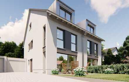 DHH (links) mit toller Raumaufteilung - Festpreis schlüsselfertig inkl. Grundstück u. Bau-NK