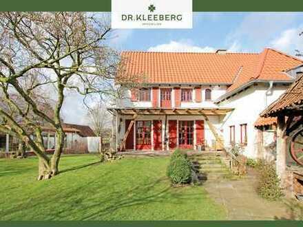 Anwesen mit vielen Nutzungsmöglichkeiten und schönem Garten am Rande von Horstmar