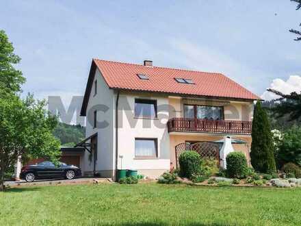 Für Naturliebhaber: Helle, gepflegte 3-Zi.-Dachgeschosswohnung in absolut ruhiger Lage bei Kulmbach