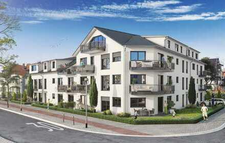 Große 3 Zimmer-ETW mit 2 Gärten und 2 Terrassen - Neubau - in toller Wohnlage!
