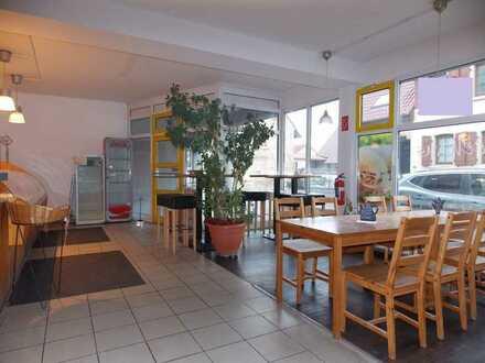 Gewerbefläche in Odenheim: Vielseitig nutzbar, große Fensterfront, frequentierte Lage