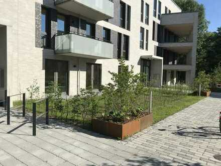 Ruhige, helle Wohnung mit Garten am Tarpenbeker Ufer, Groß Borstel