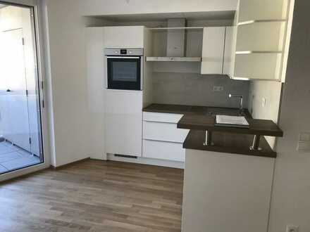 Exklusive und neuwertige 1-Zimmer-Wohnung mit Balkon und EBK in zentraler Lage in Aalen