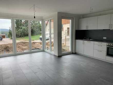 Erstbezug: Exklusive 6-Zimmer-Maisonette-Wohnung mit Einbauküche, Terrasse&Garten in Winnenden-Bürg