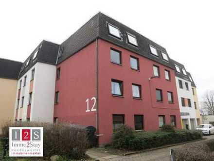 Drei 2-Zimmer-Wohnungen + Garage als Kapitalanlage in toller Lage !