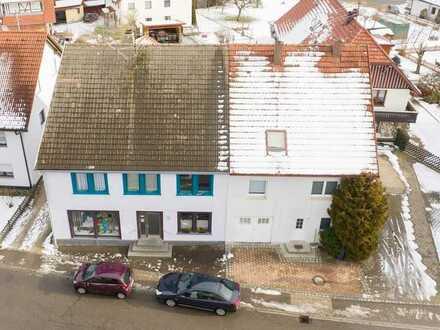 Doppelhaushälfte mit Gewerbeanteil zu vermieten