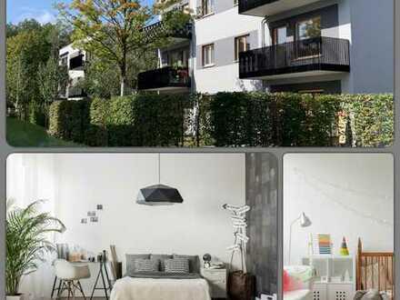 Frühling 2020: ab 1. März 2020: Schicke 2-Zimmer Wohnung im EG & Terrasse im Wohnpark-Grünau