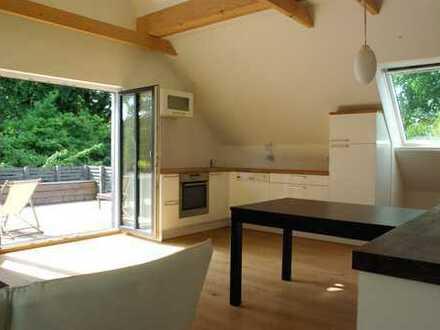 Neuwertige 1-Zimmer-Wohnung mit Balkon und Einbauküche in Ladbergen