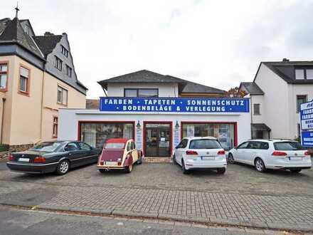 Bernkastel-Kues: Gewerbefläche in Top frequentierter Lage + Sichtbarkeit + Kundenparkflächen