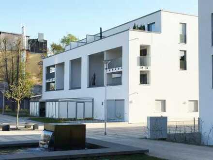 Helle 2-Zi.-ETW mit Südterrasse und Gartenanteil auf Erbpachtgrundstück in ruhiger Lage von Langen