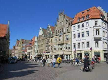Münsteraner Lifestyle am Prinzipalmarkt