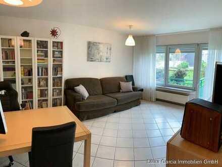 WG geeignete und barrierefreie 2 Zi.-Wohnung in gehobener Ausstattung und Balkon in 1A-Lage nahe Lou