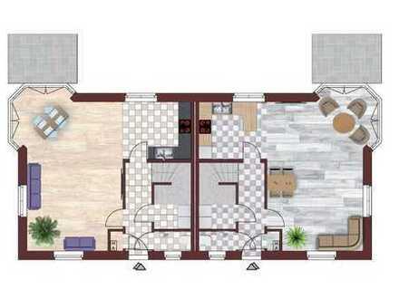 Schöne helle Doppelhaushälfte Neubau Erstbezug