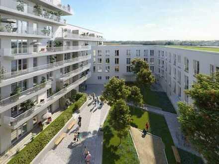Wohnen mit Aussicht! 4-Zimmer-Familienwohnung auf ca. 117 m² mit Loggia und Balkon in Germering