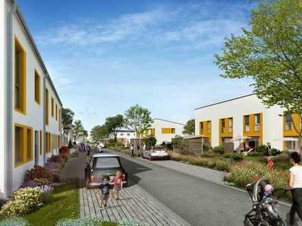 Urban in traumhafter Wasserlage: Schöne Doppelhaushälfte mit sonnigem Garten für glückliche Familien