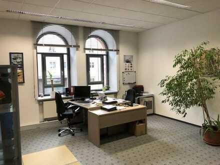 lichtdurchflutete Bürofläche im Prinz-Karl-Palais in Augsburg