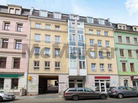 Im beliebten Dresdner Szeneviertel: Attraktive und bewohnte 1-Zimmer-Eigentumswohnung