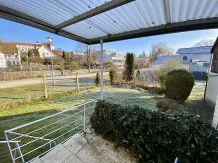 Erstbezug nach Modernisierung: Zentrale, ruhig gelegene 4-Zimmer-EG-Wohnung mit Garten & Einbauküche