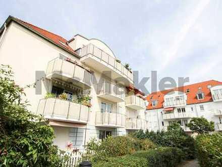Gepflegtes 1-Zi.-Apartment in ruhiger Wohnlage mit Terrasse und Garten nahe Dresden