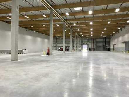Ca. 10.500 m² Hallenfläche | NEUBAU | ca. 10,50 m UKB | Jetzt sichern!