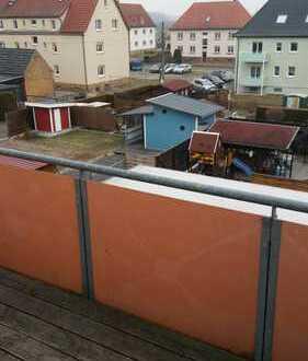 3 Monate mietfrei Dachgeschosswohnung in Deutzen mit Balkon und Stellplatz