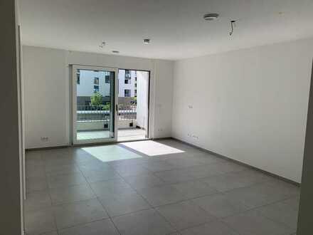 Exklusive 2-Zimmer-Wohnung mit Einbauküche und Balkon im neuen Trendviertel Freiburgs - Erstbezug