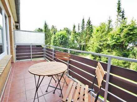 Voll möblierte Wohnung mit großem Balkon in Hummelsbüttel