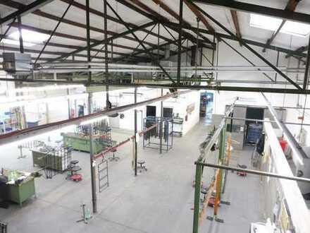 JA, zur gepflegten Produktionshallen mit Büro- und Nebenflächen im Gewerbegebiet von Haan!