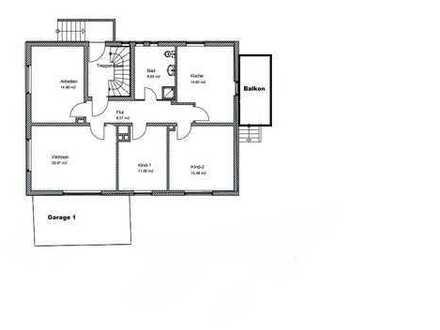 Hochwertige 4 Zimmer Wohnung in Altgarbsen mit Garten