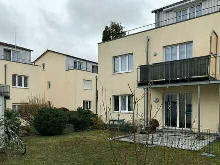 Gepflegte 3-Raum-Wohnung mit Terasse und eigenem Gartenanteil + Einbauküche in Eichstätt
