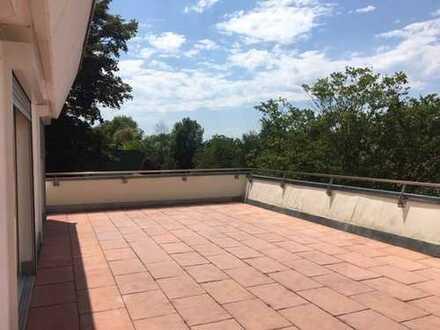 Ruhe und Natur ~ Hanglage ~ Schöne große 2-Zi.-Whg. mit Terrasse