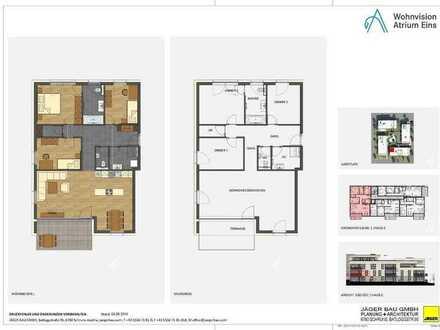 Haus C: 4 Zimmer im 1. Obergeschoss