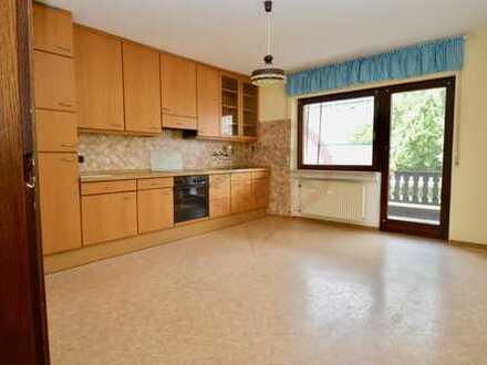 Großzügige 2 Zimmer Wohnung - Hochparterre in Bürstadt zu vermieten