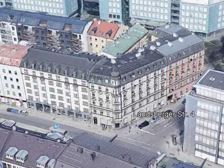 Tolle 3,5 Zimmer Jugendstil-City-Wohnung (1990 kernsaniert)