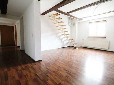 F&D   3,5-Zimmer-Maisonette-Wohnung mit Garage in der Oberstadt