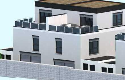 Attraktive Doppelhaushälfte mit Dachterrasse / Provisionsfrei