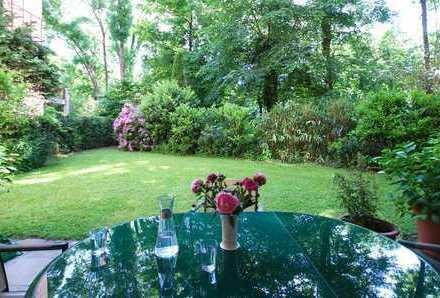 Schicke Parkwohnung am Isarufer - 3 Zimmer - mit Terrasse und Garten!
